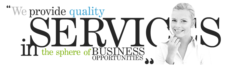 We Provide Quality Services in the Sphere of Business Opportunities